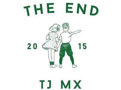 """THE END """"tj mex 2015"""" t-shirt. main photo"""