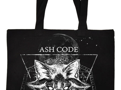 Ash Code 'Esoteric Fox' Black Tote Bag main photo