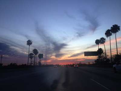 Limited Edition Print: Untitled (I-5 North, Palms, Antenna) main photo