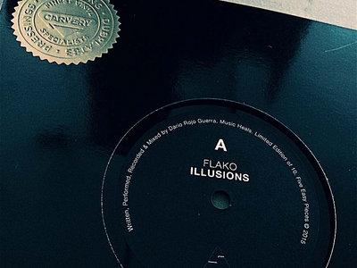"Flako / Dirg Gerner 7"" Dubplates (Limited Edition Of 10) main photo"