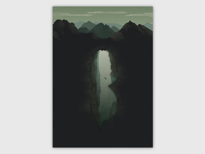 The Last Dive of David Shaw A2 print main photo