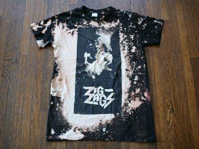 "Zig Zags ""PCP T-shirt"" (Corpse Face) Size S main photo"
