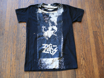 "Zig Zags ""PCP T-shirt"" (Road Warrior) Size M main photo"