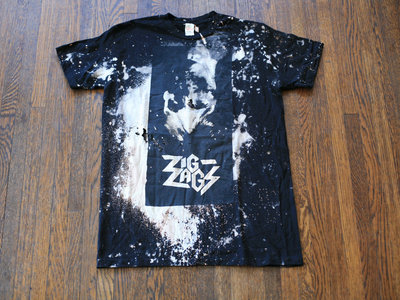 "Zig Zags ""PCP T-shirt"" (Bullet to The Head) Size M main photo"