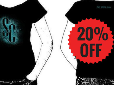 FEMALE The Same Sun T-shirt black main photo