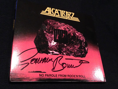 Alcatrazz - No Parole From Rock N Roll Remastered CD (Signed by Graham Bonnet) main photo