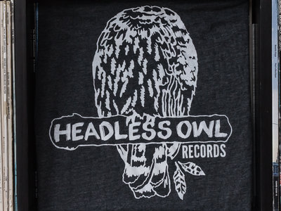 Headless Owl Shirt, Heather Grey main photo