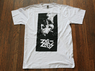 "Zig Zags ""PCP T-shirt"" White main photo"
