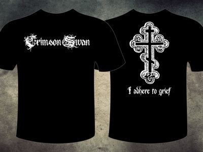 """I adhere to grief"" T-shirt main photo"