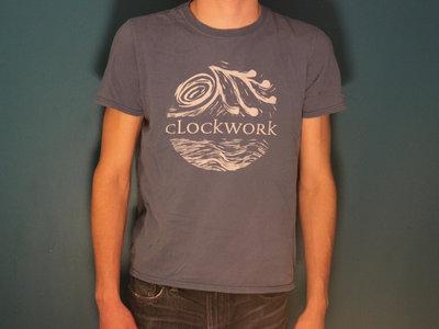 "(SALE) Clockwork ""Out To Sea"" Tee - Light Blue main photo"