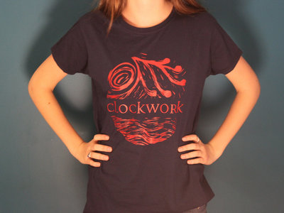 "(SALE) Clockwork ""Out To Sea"" Tee - Women's Cut - Dark Blue main photo"