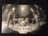 Clockwork Poster - LIVE! photo