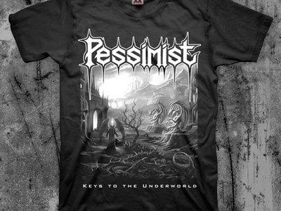 "Pessimist ""Keys to the Underworld"" Tshirt main photo"