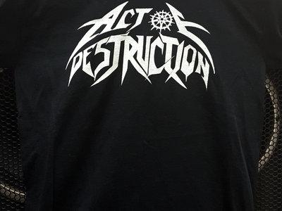 Act Of Destruction Logo T-Shirt main photo