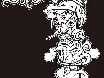 "Serum ""Brainstorm Totem"" T-shirt designed by Krave Art main photo"