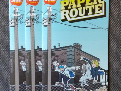 The Last Paper Route Issue #1 main photo