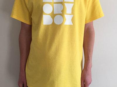 Memory Box T-Shirt yellow main photo