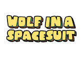 Wolf In a Spacesuit Inaugural Tee (American Apparel Tri-Blend) photo