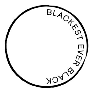 Merch   Blackest Ever Black