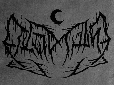 14x10 Black & Gray LEVIATHAN Patch main photo