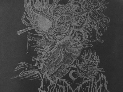 Leviathan / Krieg Glow in the Dark 19x15 Back Patch main photo