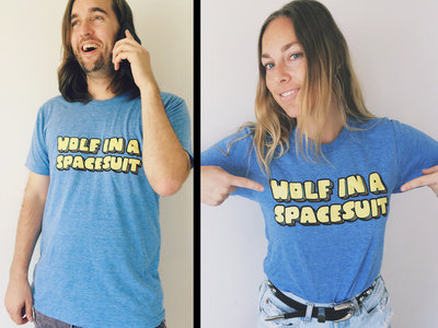Wolf In a Spacesuit Inaugural Tee (American Apparel Tri-Blend) main photo