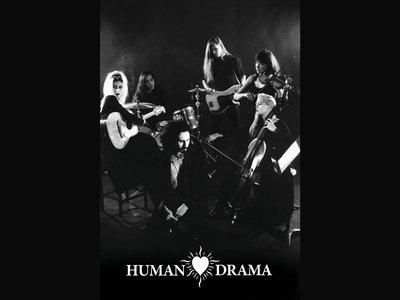 Human Drama 12x18 BW Band Limited Edition Print main photo