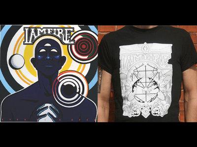 EYES WIDE OPEN, vinyl + ILLUMINATI TEE, BLACK main photo