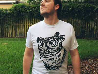"New ""Laney Jones and the Spirits"" Horned Owl T-shirt main photo"