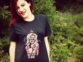 T-shirt She's horny on wine photo
