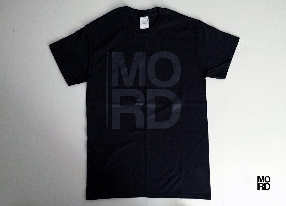 Mord logo T-shirt (Dark grey logo) | mord