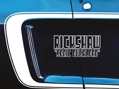 Rickshaw - Sonic Overload - CD main photo