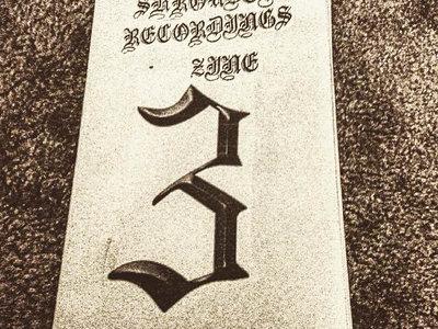 SHROUDED RECORDINGS ZINE #3 main photo
