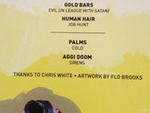 "Aggi Doom! Very Rare Split 7"" With Gold Bars / Palms / Human Hair photo"