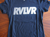 Black RVLVR logo Tee Shirt photo