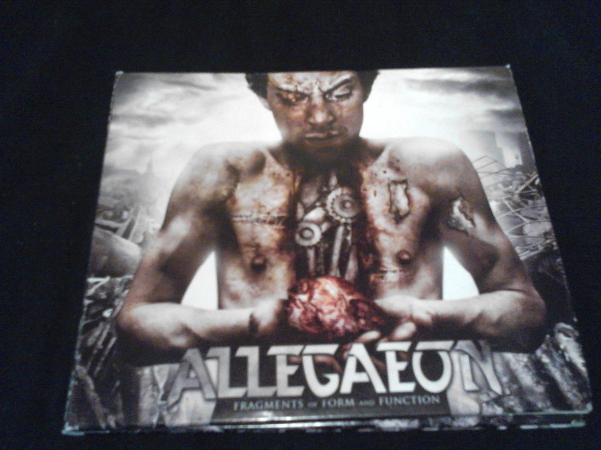 Allegaeon - 'Fragments Of Form And Function' CD   Swimming With Sharks