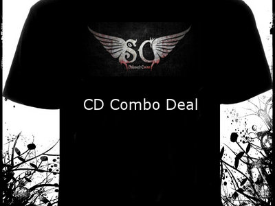 Cell 36 (album) & T-shirt with band logo (front) main photo