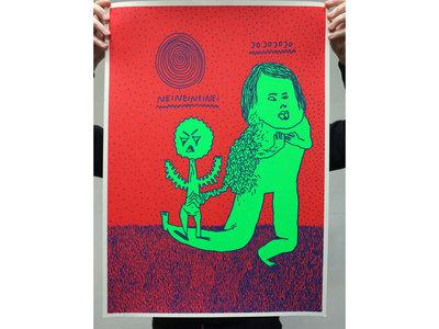 'Dikke Beuys' Silkscreen [50x70cm] main photo
