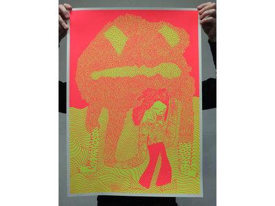 'Probleemloos wegkomen onmogelijk' Silkscreen [50x70cm] main photo