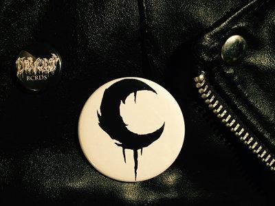 Big 2.25 Leviathan Crescent Moon Button main photo