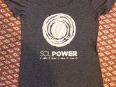 Sol Power Sound T-Shirt (Men's / Unisex and Ladies sizes) - Navy Heather, Black, Grey Triblend photo