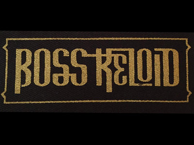 Boss Keloid - Gold Logo Patch main photo