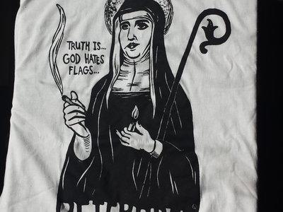 Smoking Nun t-shirt main photo