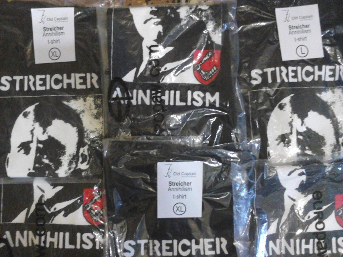 d72cb09ac861 Streicher – Annihilism T-Shirt