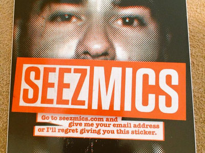 Seez Mics email stickers (10/$5 or FREE with any purchase) main photo