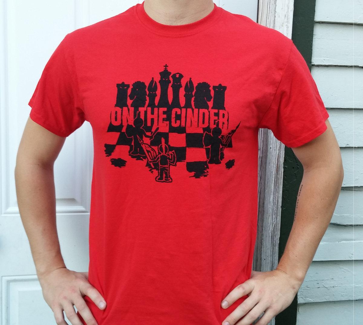 T shirt design red - T Shirt Chess Board Design Red Main Photo