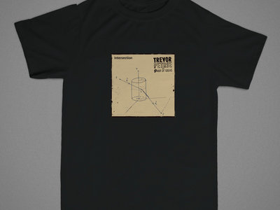 Intersection cover art tee (black) main photo