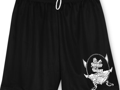 Anchor Design Unisex Mesh Shorts w/ Pockets & Draw String main photo