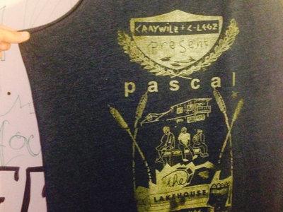 Original album art work T-shirt for  the album Cray WiLz & C-LeGz present : Pascal (the Lakehouse testimonies VOL. 1) main photo