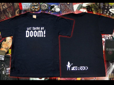 Let there be Doom T-shirt main photo